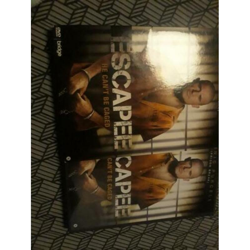 DVD Escapee he can 't be caged Dominic Purcell prison break