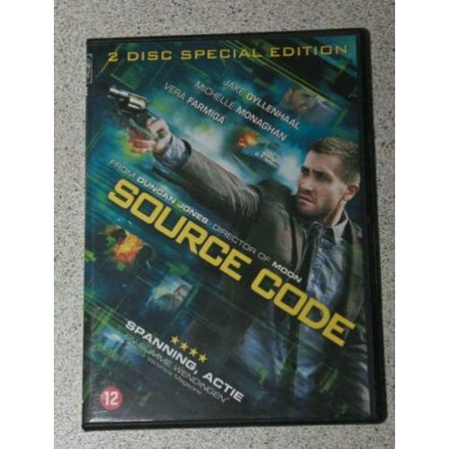Source Code. 2-disc special edition. Actiethriller.
