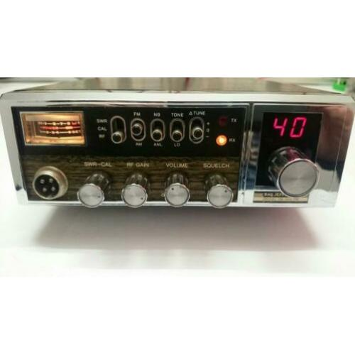 Ray jefferson 40 kanalen Am Fm mobielbak. 7 watt