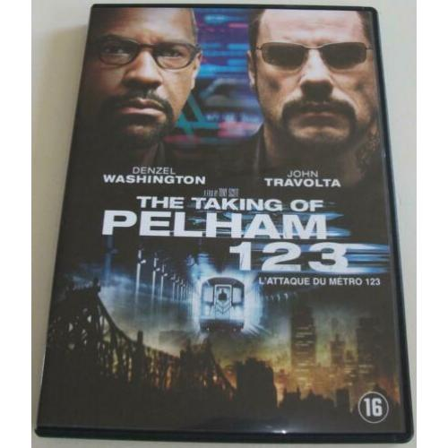 Dvd *** THE TAKING OF PELHAM 123 *** De mysterieuze Ryder