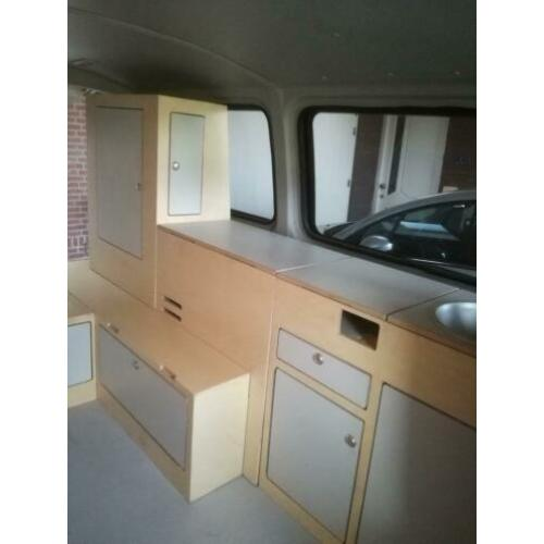 Interieur vw t5 camper demontabel