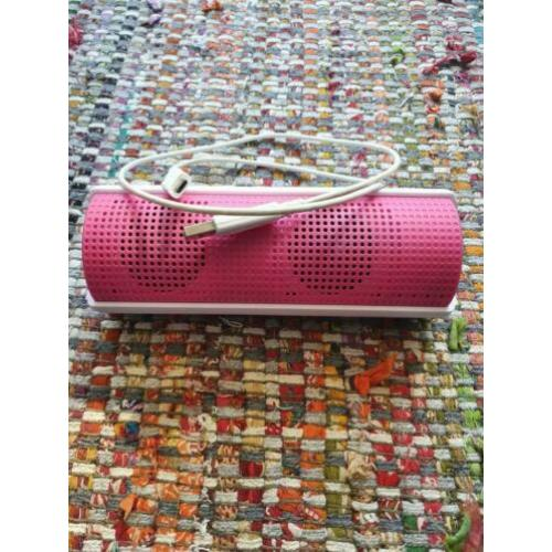 Tube Bluetooth speaker Roze