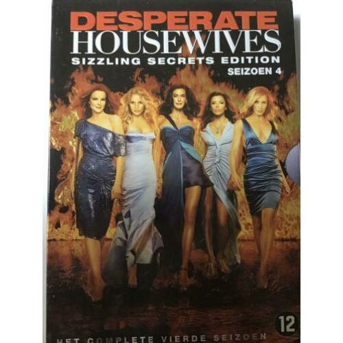 Desperate housewives seizoen 1 tm 4, nl subs